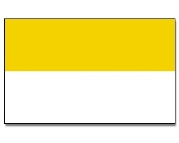 Flagge Grün Weiß Gelb