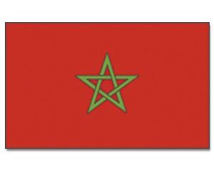 Stock-Flagge Marokko