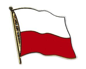 Flaggen-Pins Polen