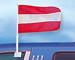 Autoflagge Österreich