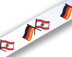 Freundschafts-Schlüsselbänder Deutschland-Libanon