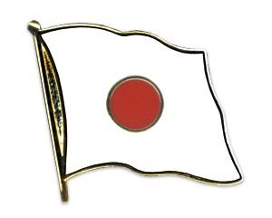 Flaggen-Pins Japan