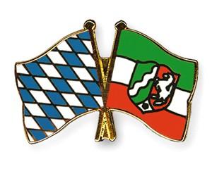 Freundschaftspins Bayern-Nordrhein-Westfalen