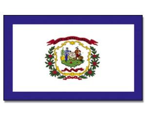 Flagge West Virginia