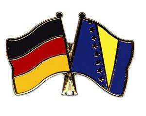 Freundschaftspins Deutschland-Bosnien und Herzegowina