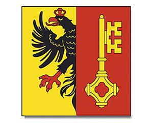 Flagge Genf