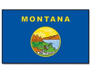 Flagge Montana