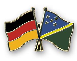 Freundschaftspins Deutschland-Salomonen