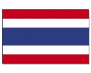 Stock-Flagge Thailand