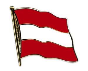 Flaggen-Pins Österreich