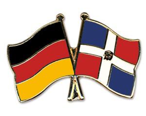 Freundschaftspins Deutschland-Dominikanische Republik
