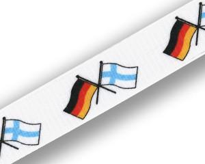 Freundschafts-Schlüsselbänder Deutschland-Finnland