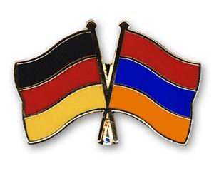 Freundschaftspins Deutschland-Armenien