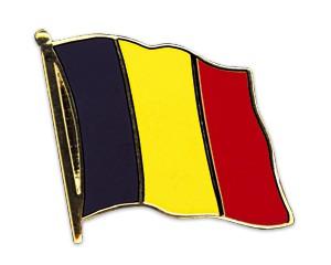 Flaggen-Pins Belgien