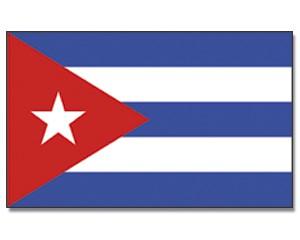 Stock-Flagge Kuba