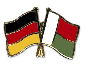Freundschaftspins Deutschland-Madagaskar