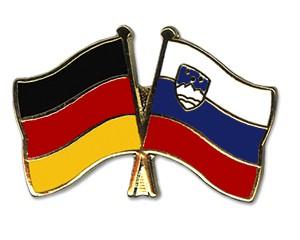 Freundschaftspins Deutschland-Slowenien