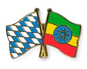 Freundschaftspins Bayern-Äthiopien
