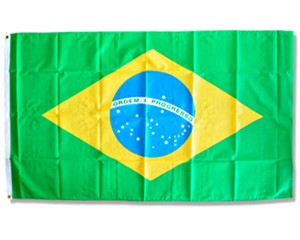 Flagge Brasilien Sonderposten