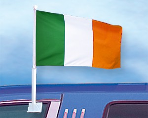 Autoflagge Irland