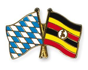 Freundschaftspins Bayern-Uganda