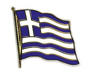 Flaggen-Pins Griechenland