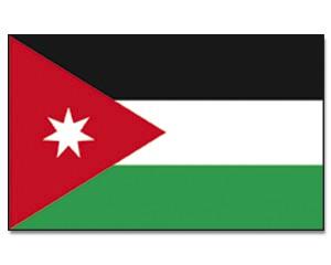 Flagge Jordanien