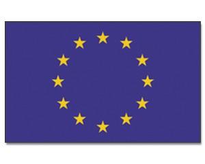 Stock-Flagge Europa