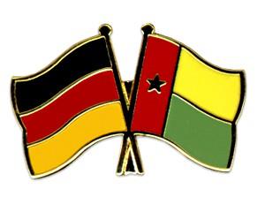 Freundschaftspins Deutschland-Guinea-Bissau