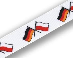 Freundschafts-Schlüsselbänder Deutschland-Polen