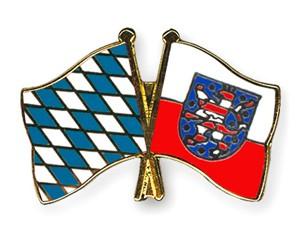 Freundschaftspins Bayern-Thüringen