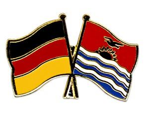 Freundschaftspins Deutschland-Kiribati