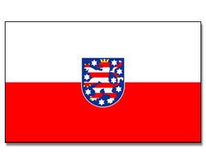 Stock-Flagge Thüringen