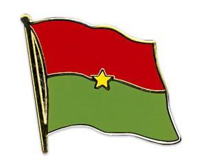 Flaggen-Pins Burkina-Faso