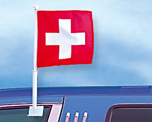 Autoflagge Schweiz