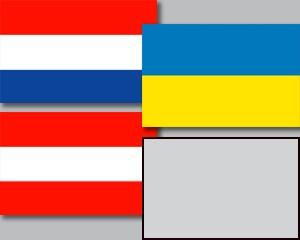 Flaggen Set Gruppe C Fußball EM 2020