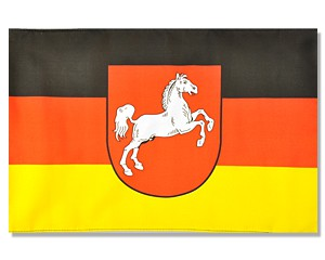 Stock-Flagge Niedersachsen Sonderposten