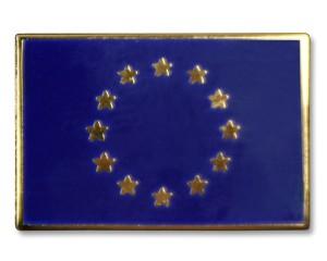 Flaggen-Pins Europa (rechteckig)