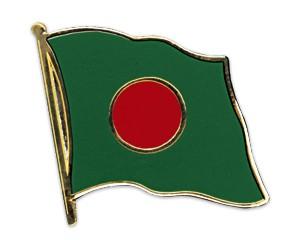 Flaggen-Pins Bangladesch