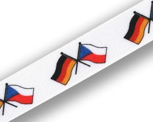 Freundschafts-Schlüsselbänder Deutschland-Tschechische Republik