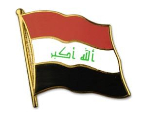 Flaggen-Pins Irak
