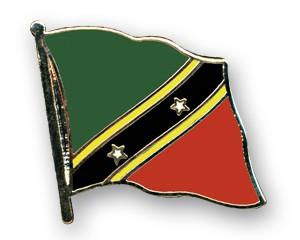 Flaggen-Pins St. Kitts und Nevis