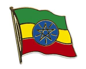 Flaggen-Pins Äthiopien