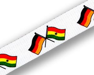 Freundschafts-Schlüsselbänder Deutschland-Ghana