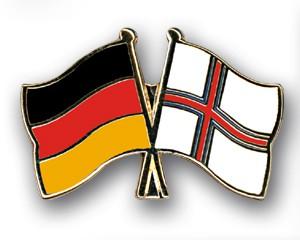 Freundschaftspins Deutschland-Färöer