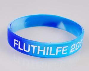 Silikonarmband Fluthilfe 2013