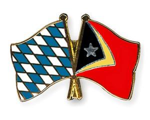 Freundschaftspins Bayern-Timor-Leste