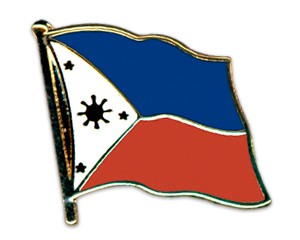 Flaggen-Pins Philippinen