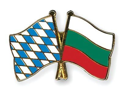 Freundschaftspins Bayern-Bulgarien