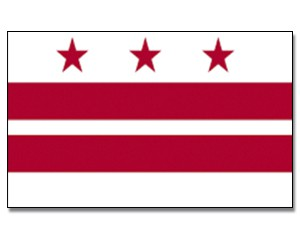 Flagge District of Columbia